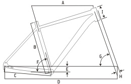 "Ideal Nergetic 28"" Adventure Bike Geometry"