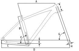 "Ideal Target 29"" Mountain Bike Geometry"